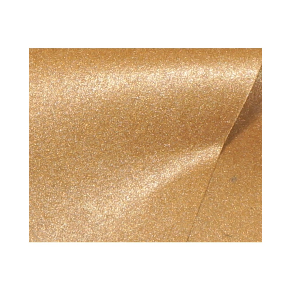 Papel de Scrap Perolizado Text Bronze 180g 30x30