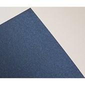 Papel Metalizado Dupla Face Liso  Azul Noite A4 180g
