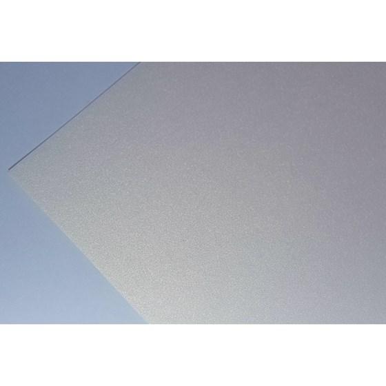Papel Metalizado Dupla Face Liso Ouro Branco A4 180g