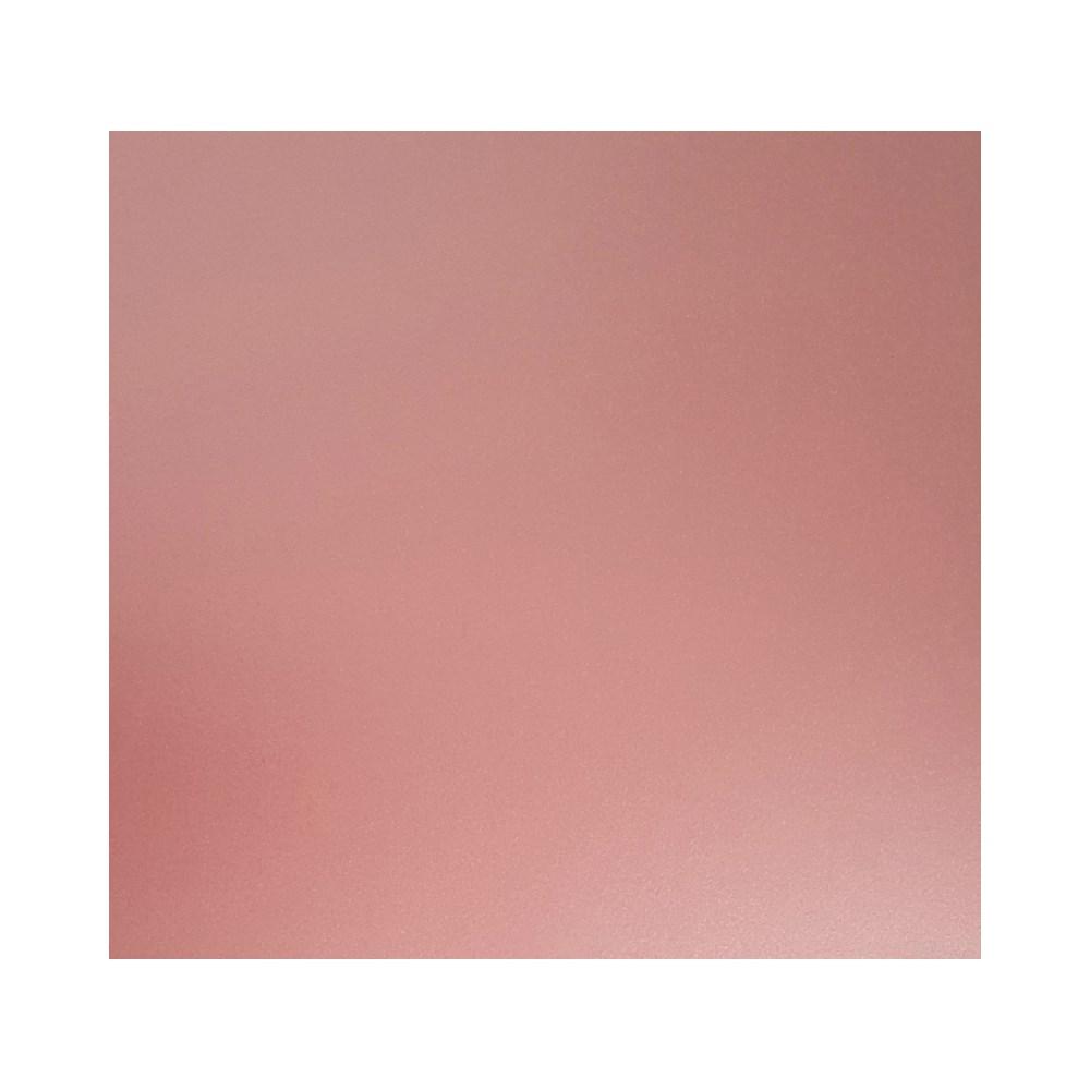 Papel Metalizado Dupla Face Liso Rosa Quartz  A4 180g