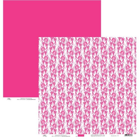 Papel Ornamento Pink 30x30