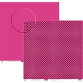 Papel Poa Grande Liso Pink