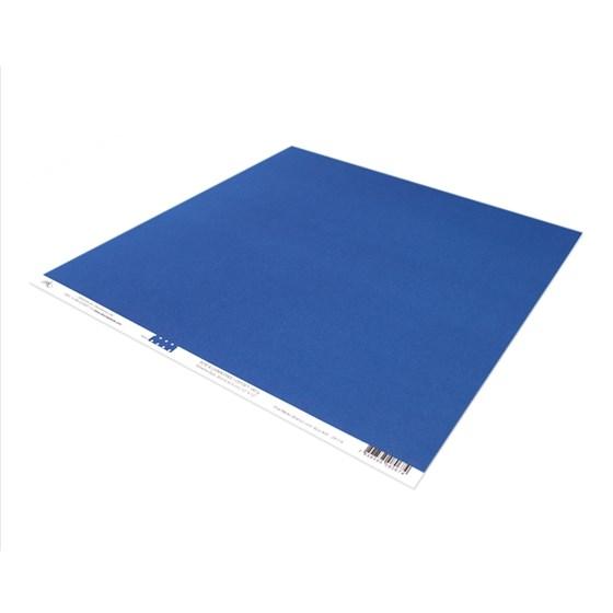 Papel Poa Médio com Azul Anil
