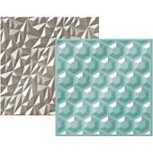 Placas de Texturizar Papéis Gemstone WER