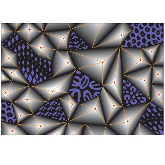Placas De Texturizar Papel Junbled Triangle 3d Sizzix