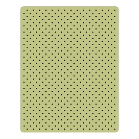 Placas De Texturizar Papel Tiny Dots Sizzix