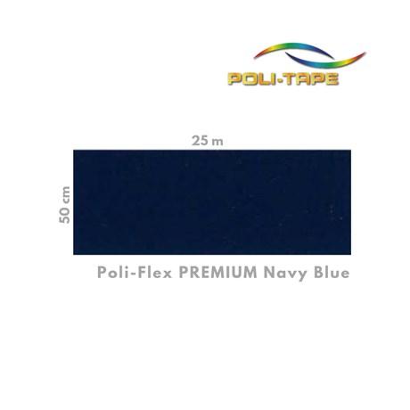 Poli-Flex Premium Navy Blue 405 0,50cm x 1m