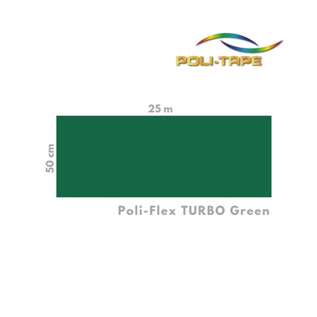 Poli-flex Turbo Green 4904 0,50 x 1 m