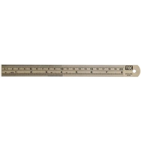 Régua de Metal 20cm TEC