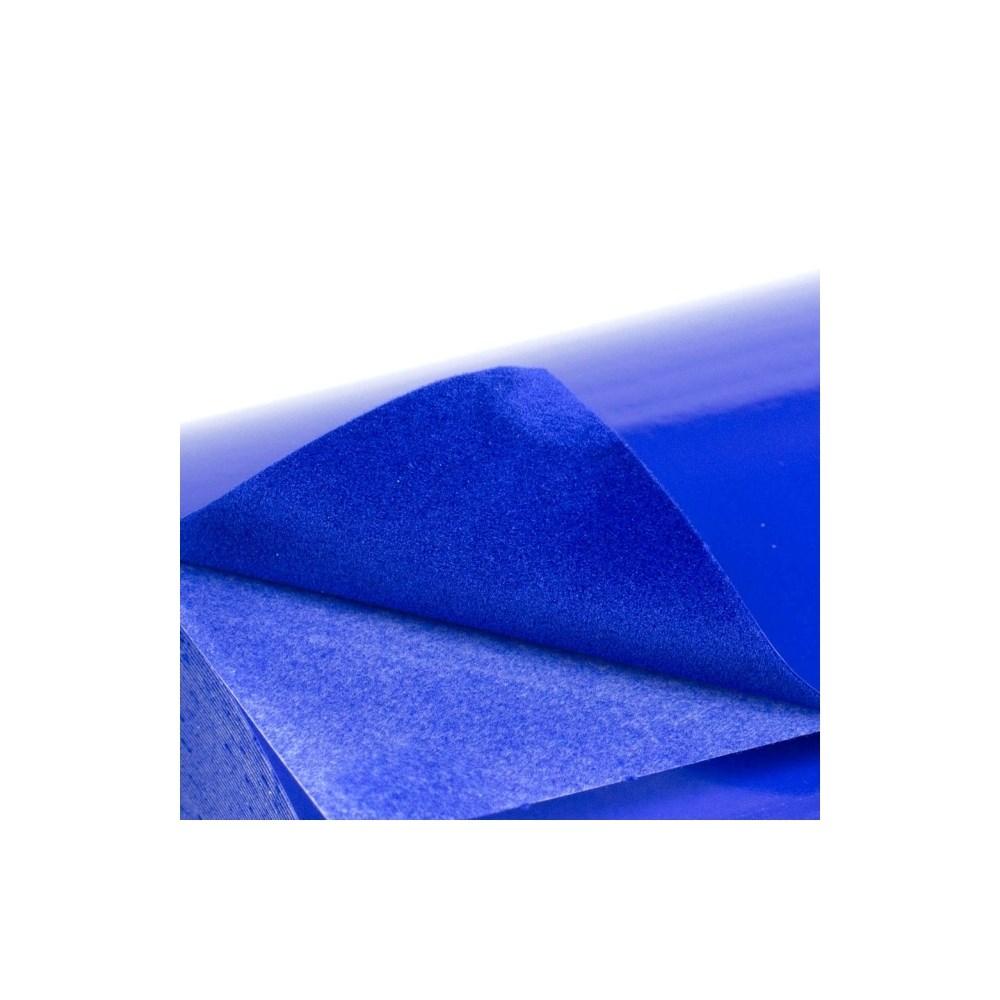 Termotransfer Poli-Tape Flocado Azul 0,25x1m