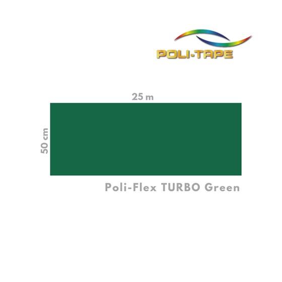 Termotransfer Poli-Tape Turbo Green 0,50x1m