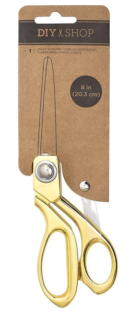 Tesoura Craft Gold American Crafts