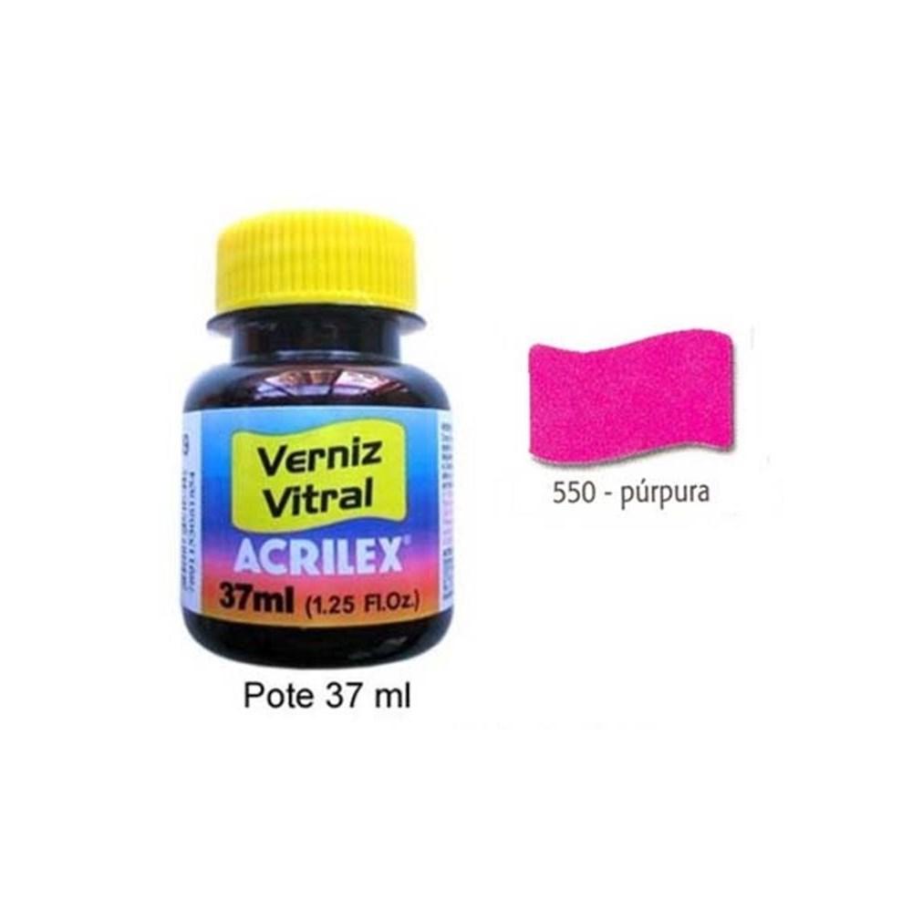 Tinta Verniz Vitral / 37ml Purpura