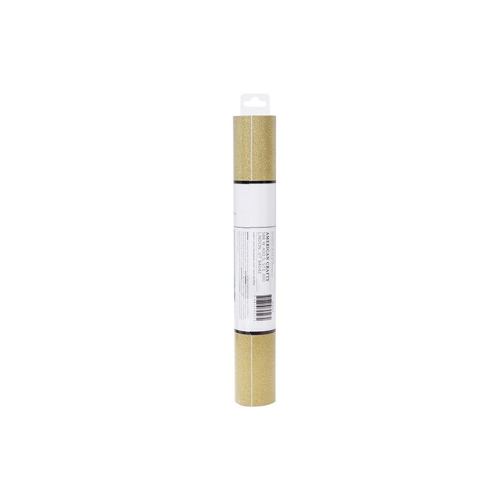 Vinil Adesivo Glitter Dourado
