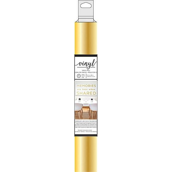 Vinil Adesivo Metalizado Dourado